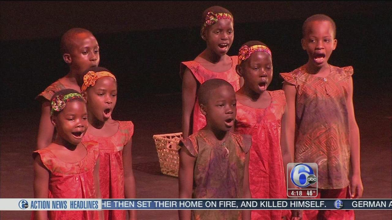 VIDEO: Child survivors bring gift of music to Philly