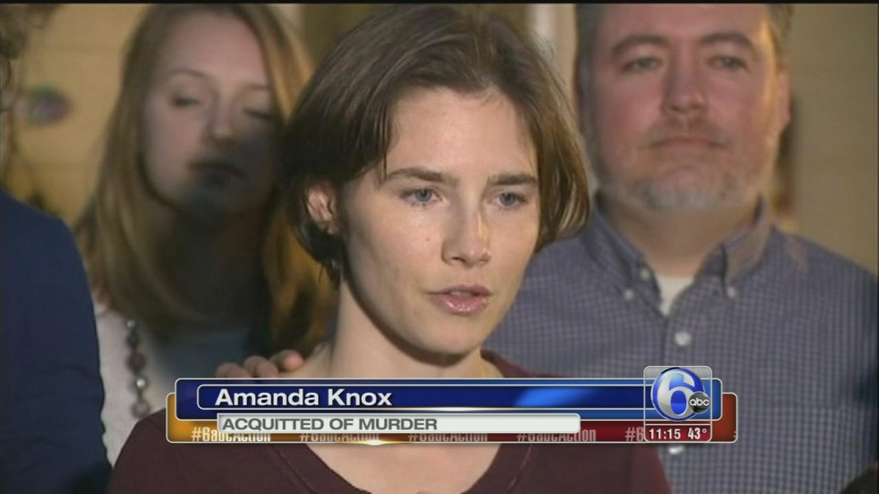 VIDEO: Judges overturn Amanda Knox conviction