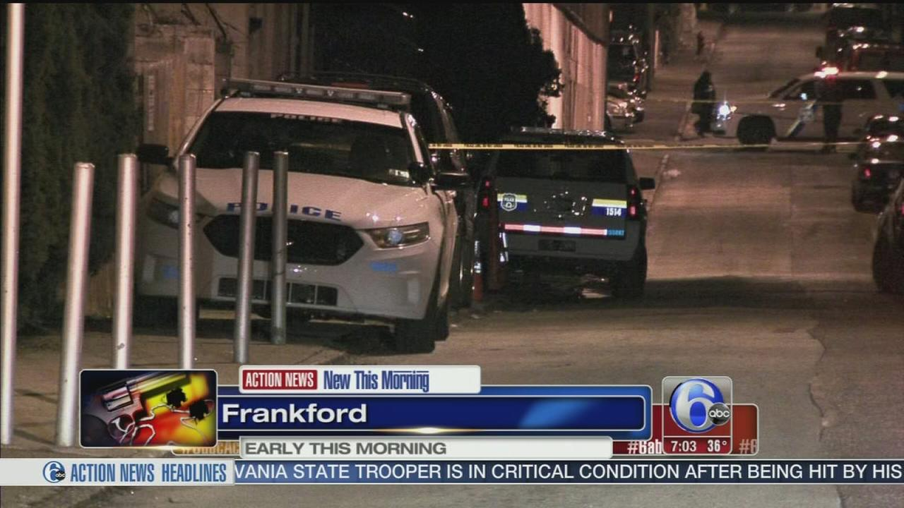 VIDEO: Man gunned down in Frankford apartment