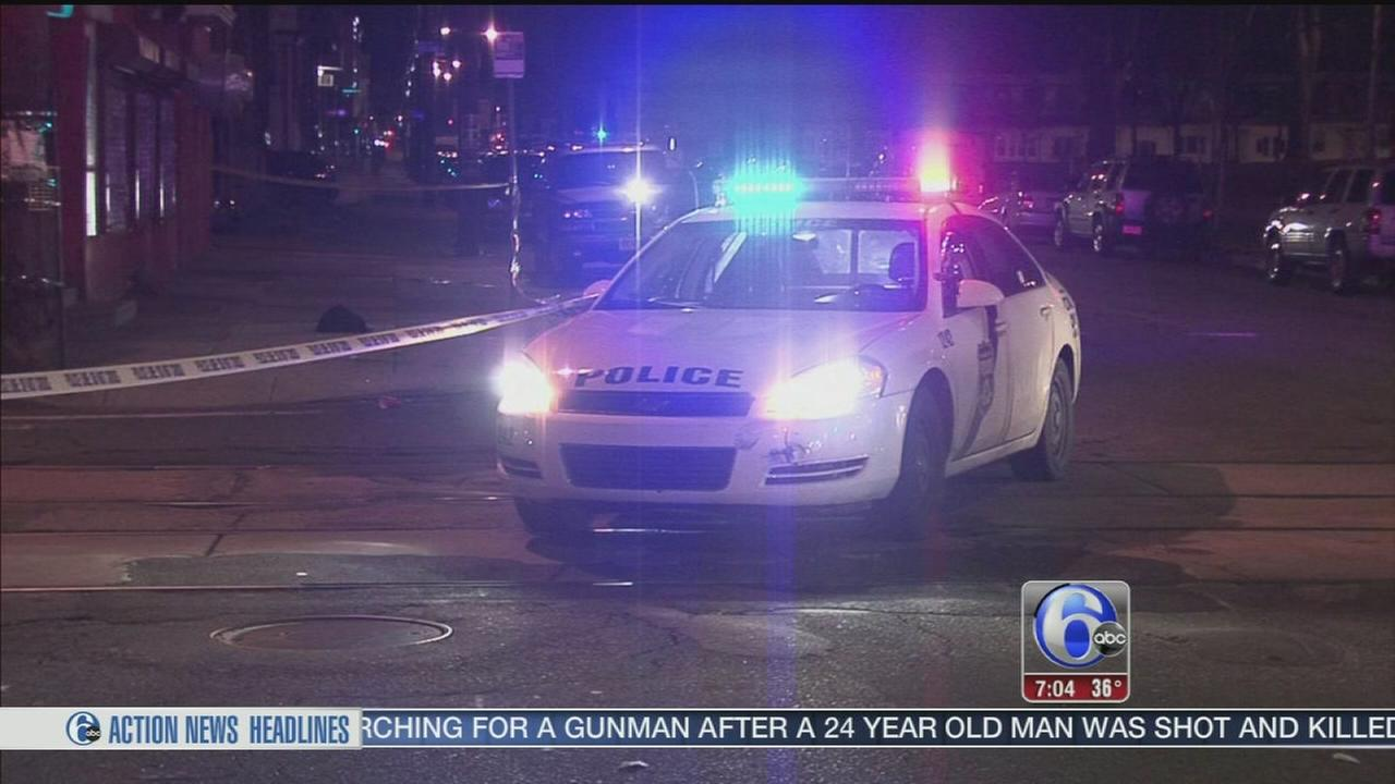 VIDEO: 2 injured in SW Phila. shooting