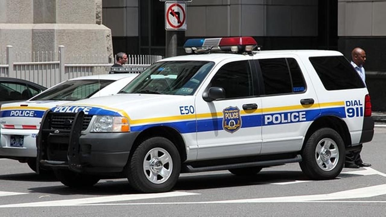 philadelphia police cruiser