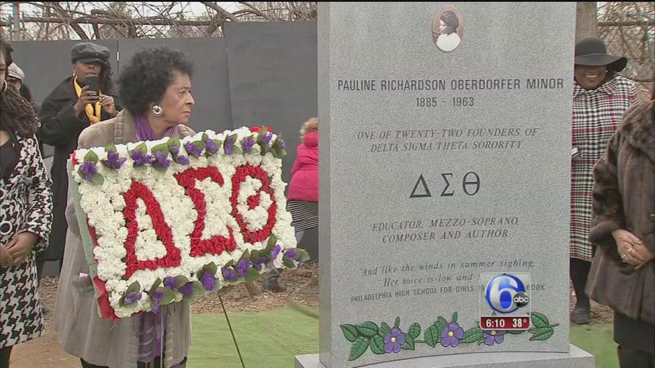 VIDEO: Delta Sigma Theta founder honored in Collingdale