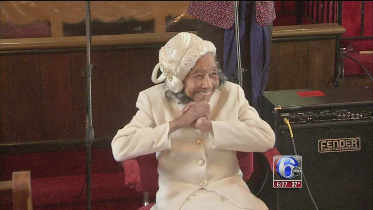 VIDEO: West Philly woman turns 106!