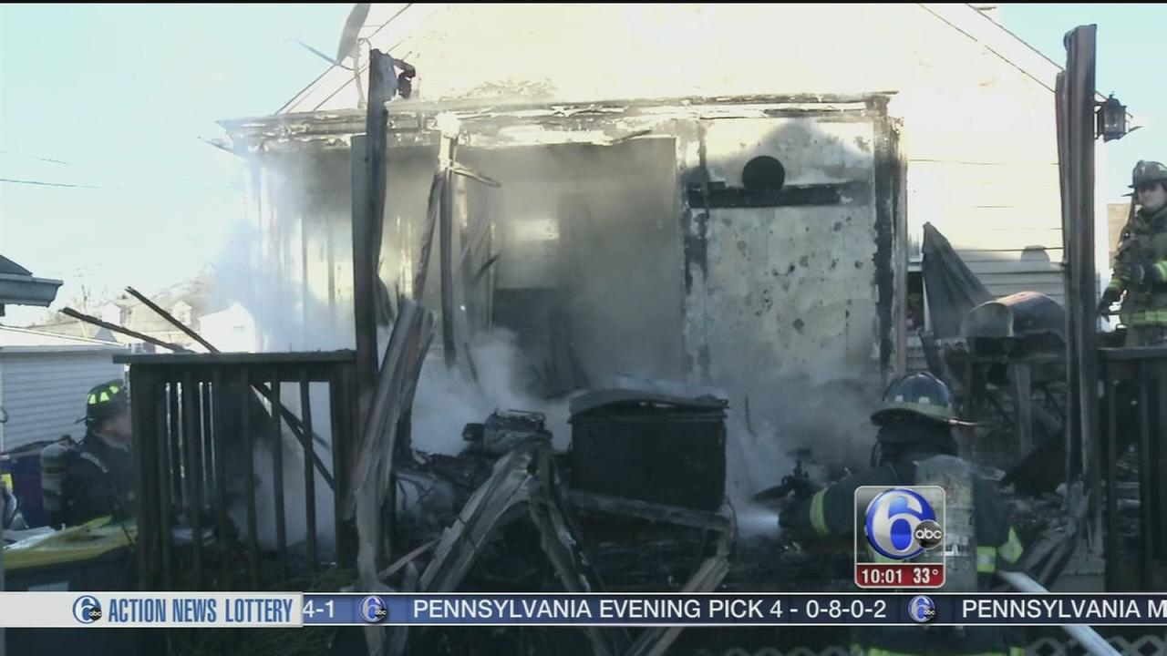 VIDEO: Newport fire