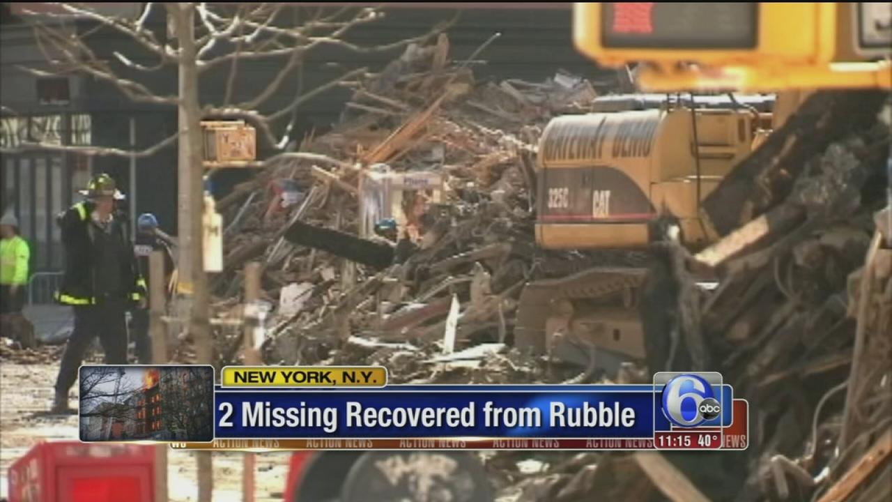 VIDEO: 2 bodies found 3 days after NYC explosion