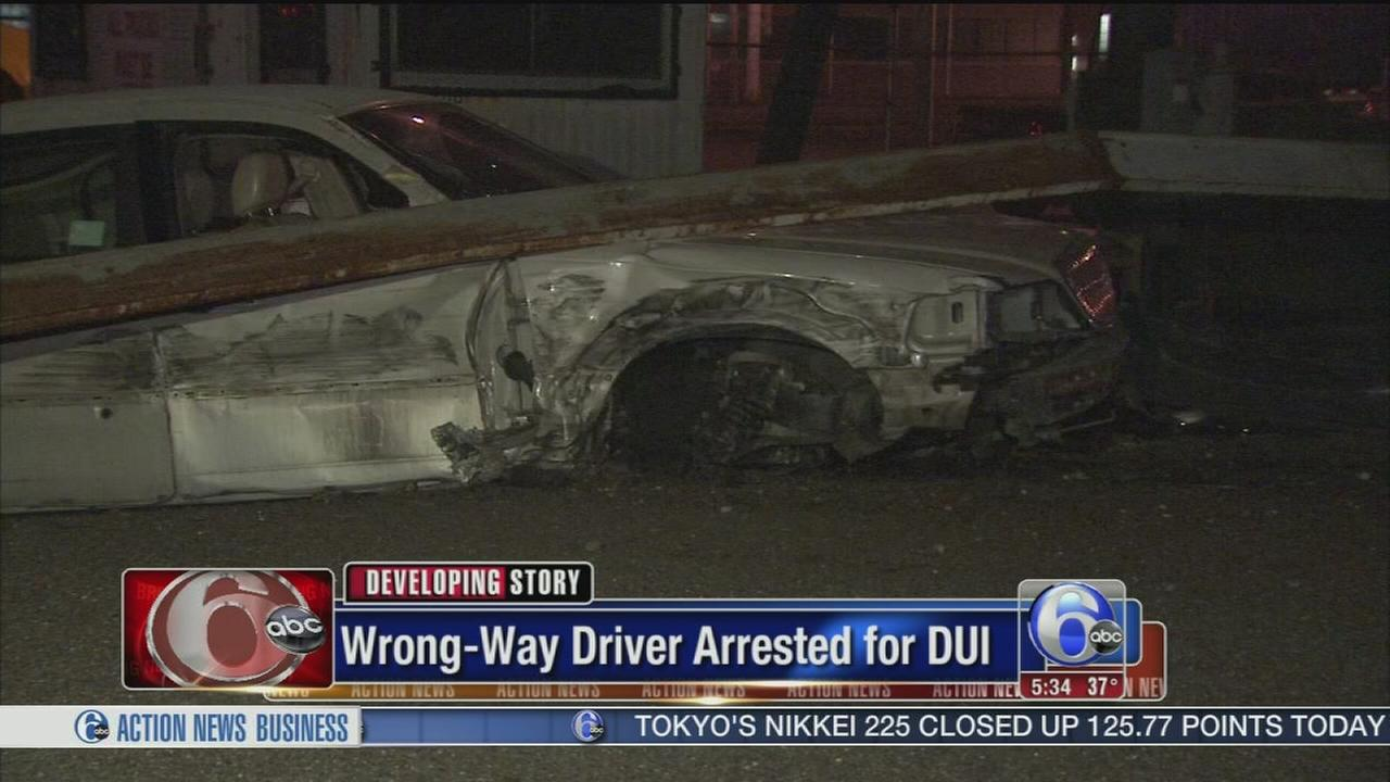 VIDEO: Wrong-way driver arrested for DUI