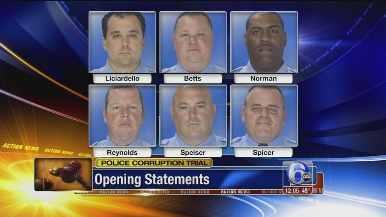 VIDEO: Prosecutors lay out case against ex-undercover drug officers