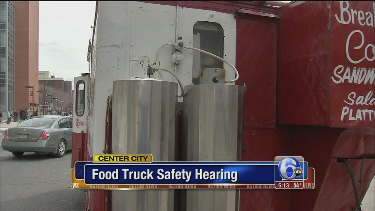 VIDEO: Food truck safety hearing
