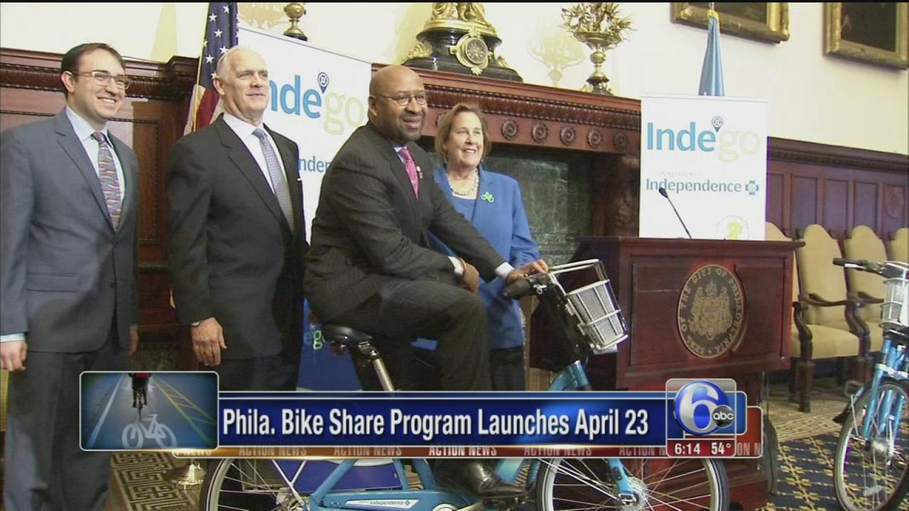 VIDEO: Bike share