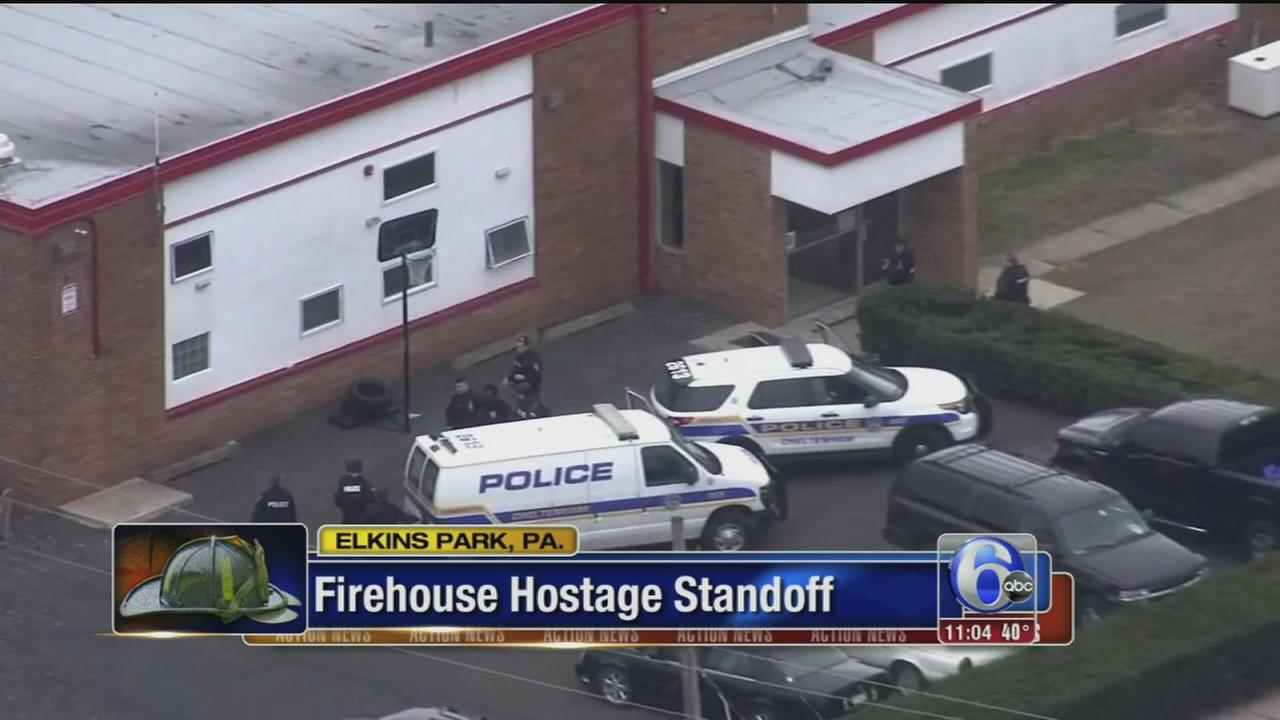 VIDEO: Firehouse standoff
