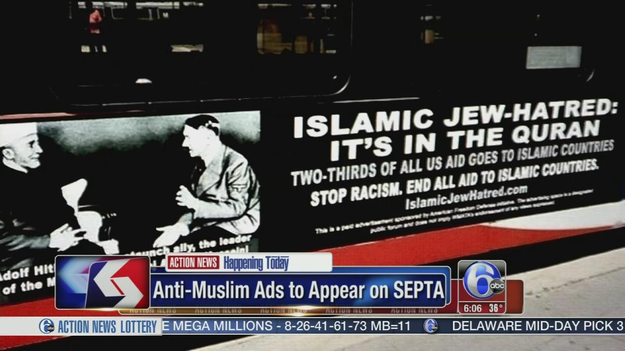 VIDEO: Anti-Muslim ad to run on SEPTA