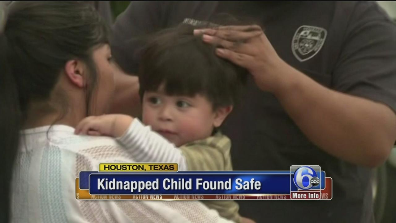 VIDEO: Kidnapped boy found safe