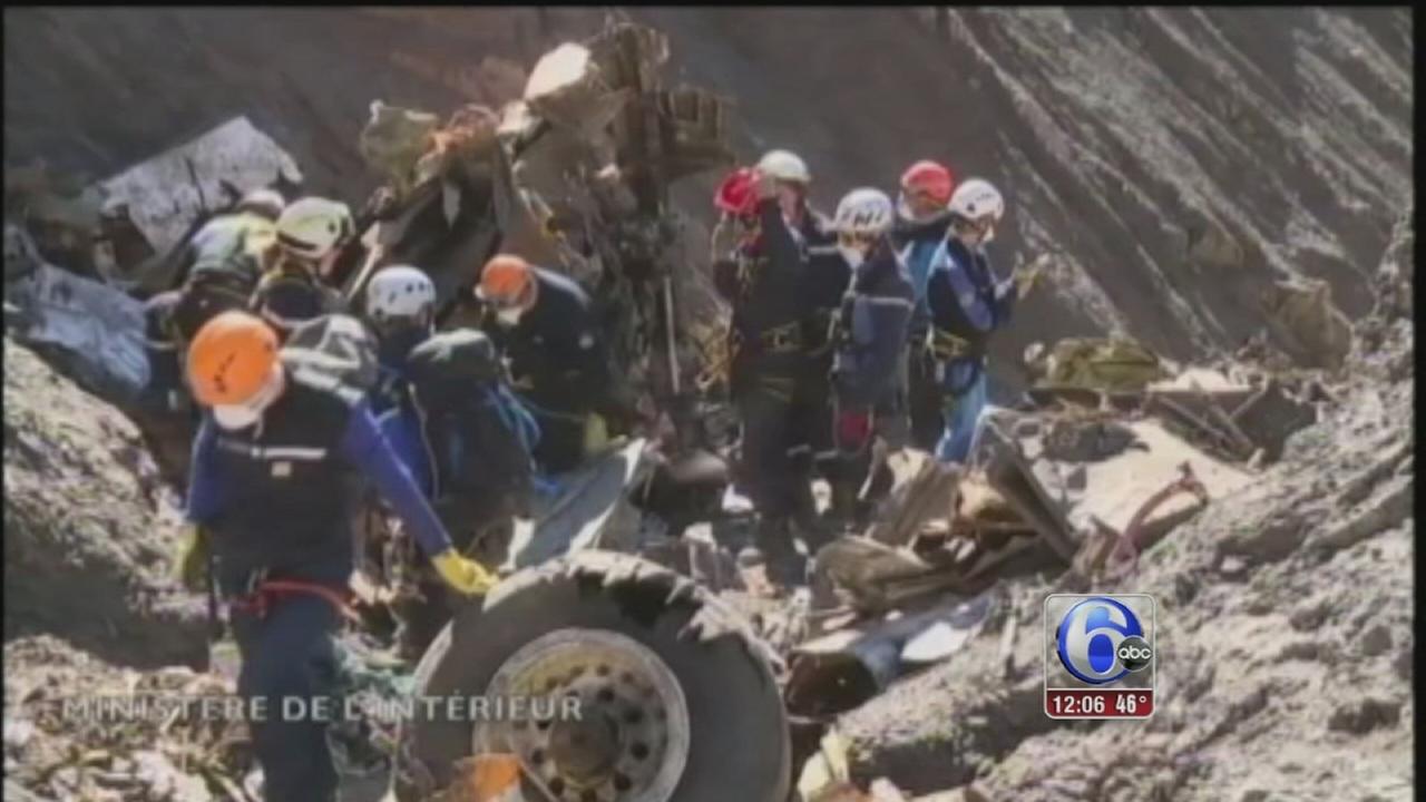VIDEO:  Plane crash French alps latest