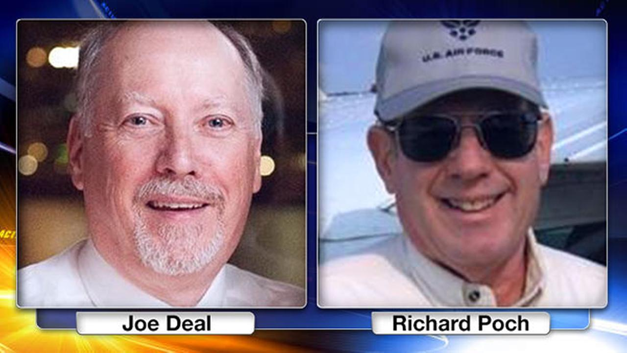 64-year-old Joseph Deal and 67-year-old Richard Poch were killed when the small aircraft they were in crashed shortly after takeoff from the Brandywine Airport.