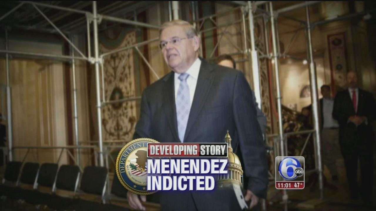 VIDEO: Sen. Bob Menendez indicted on corruption charges