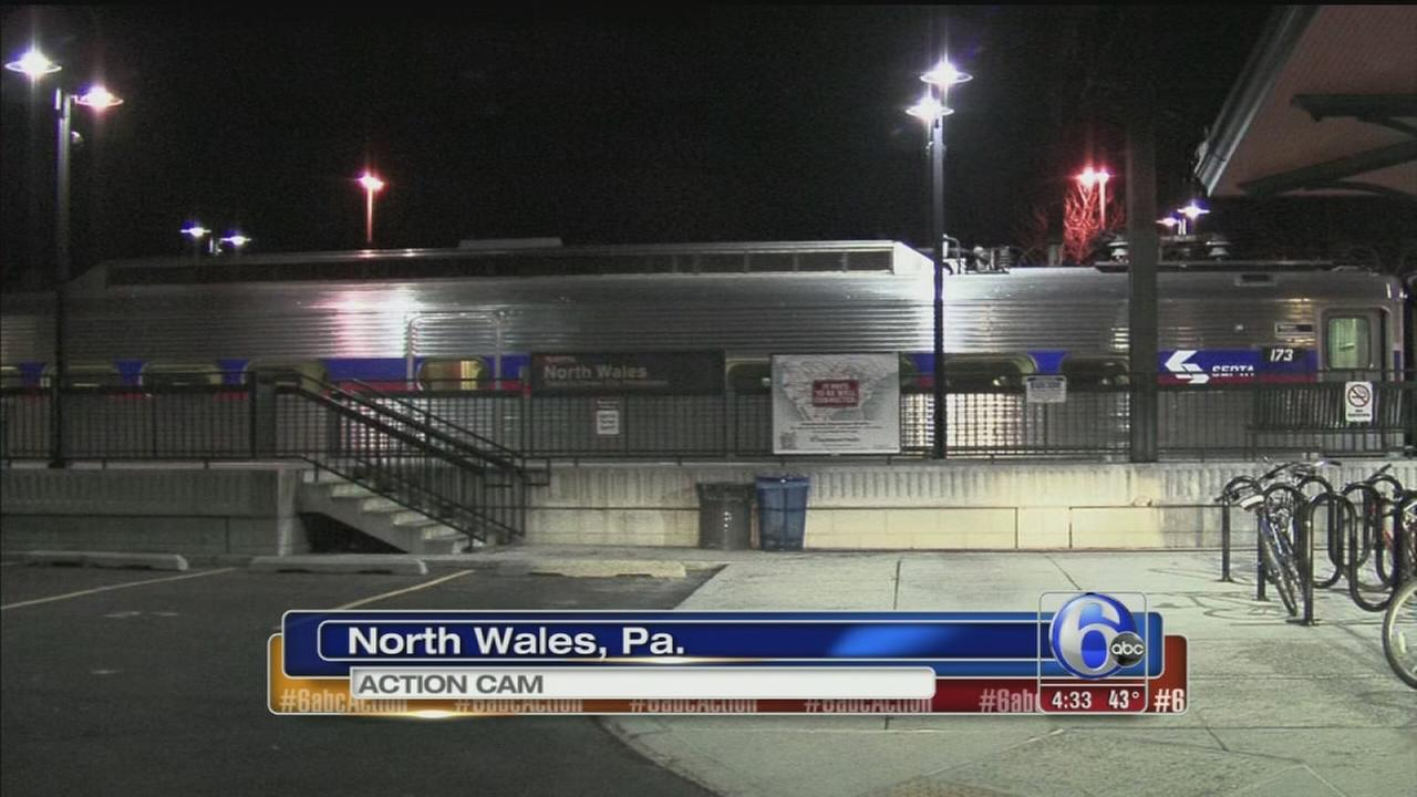 VIDEO: Man falls off SEPTA platform in Montco