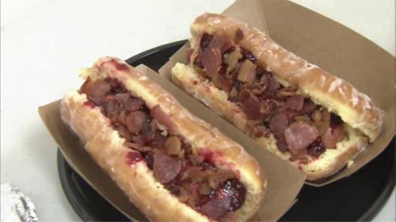 Name picked for Blue Rocks new bacon hot dog on doughnut