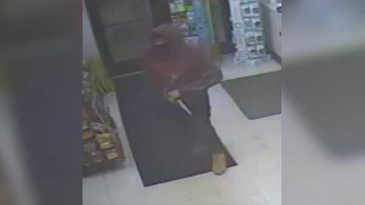 Philadelphia police are searching for two gunmen who robbed a gas station in the citys Fishtown section early Friday morning.
