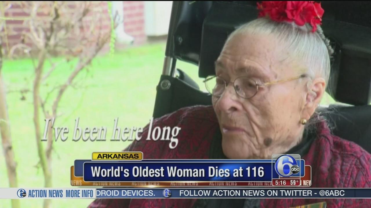 VIDEO: Worlds oldest woman dies at 116