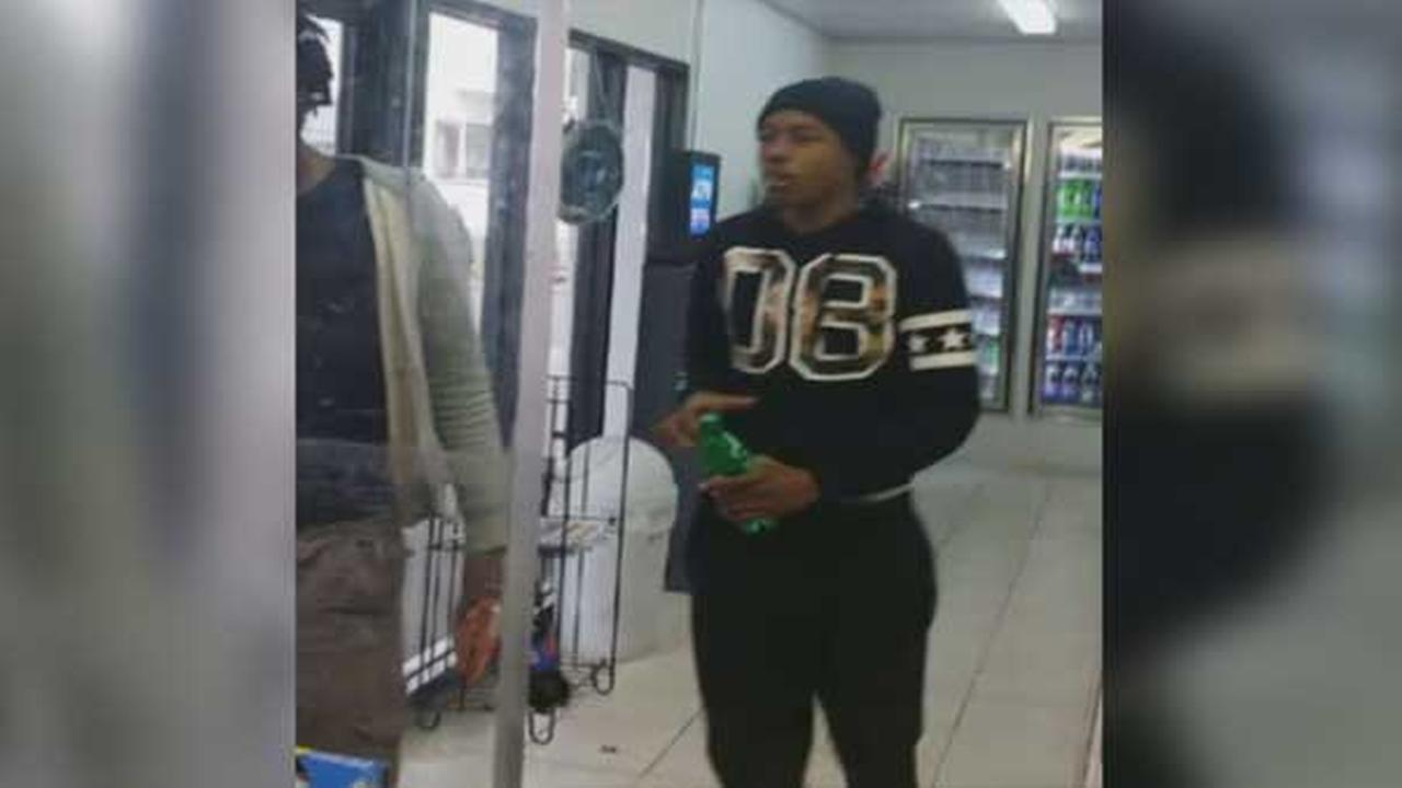 Police are investigating a robbery at a gas station in North Philadelphia.