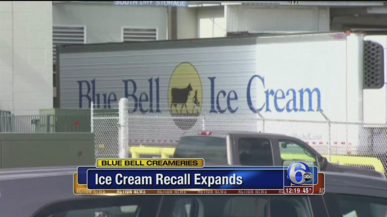 VIDEO: Blue Bell expands recall of ice cream made at Okla. plant