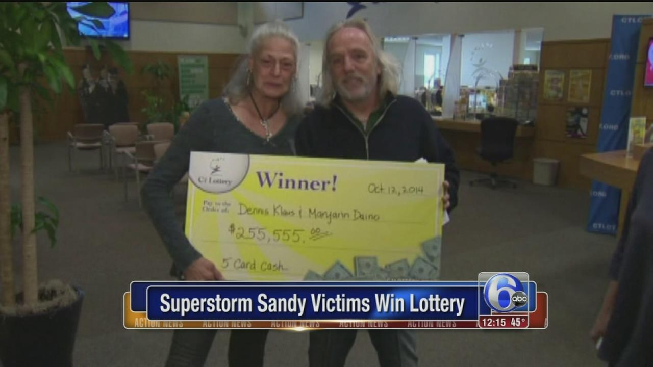 VIDEO: Sandy lotto winners