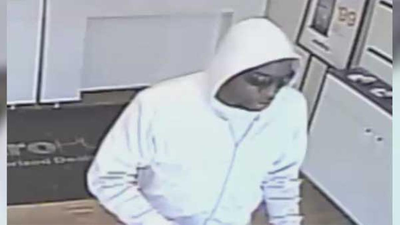 Philadelphia police are searching for a suspect who robbed a cell phone store in the citys Point Breeze section.