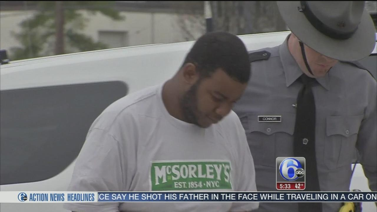 VIDEO: Son, 22, charged with shooting his dad on I-76