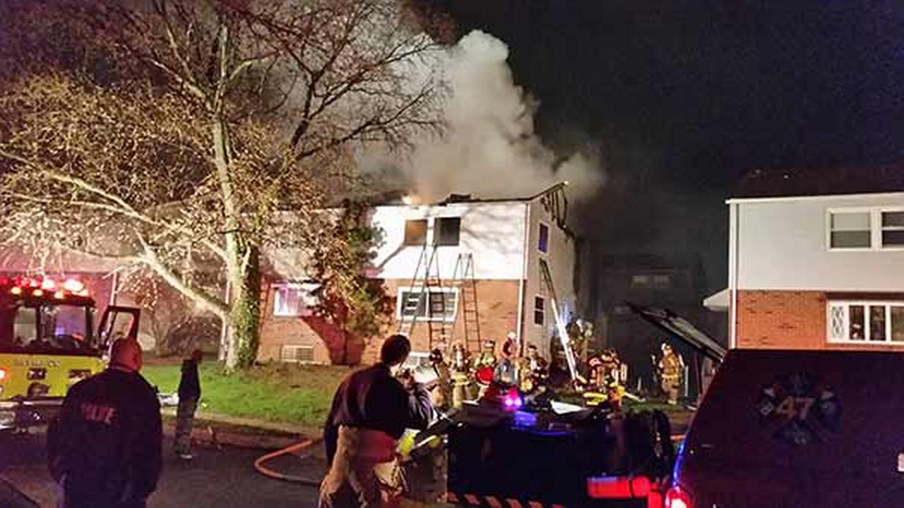 Firefighter, resident injured in Chester Twp. house blaze