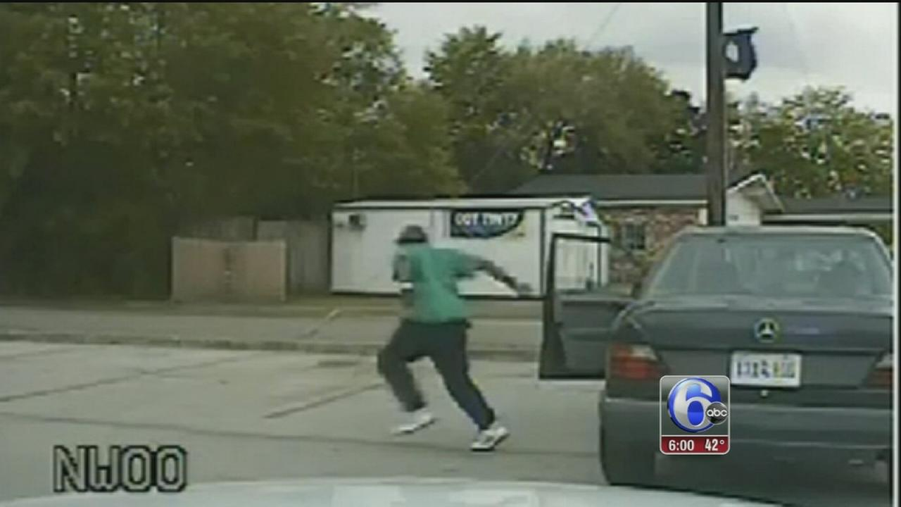 VIDEO: Dash cam video shows chase before SC shooting