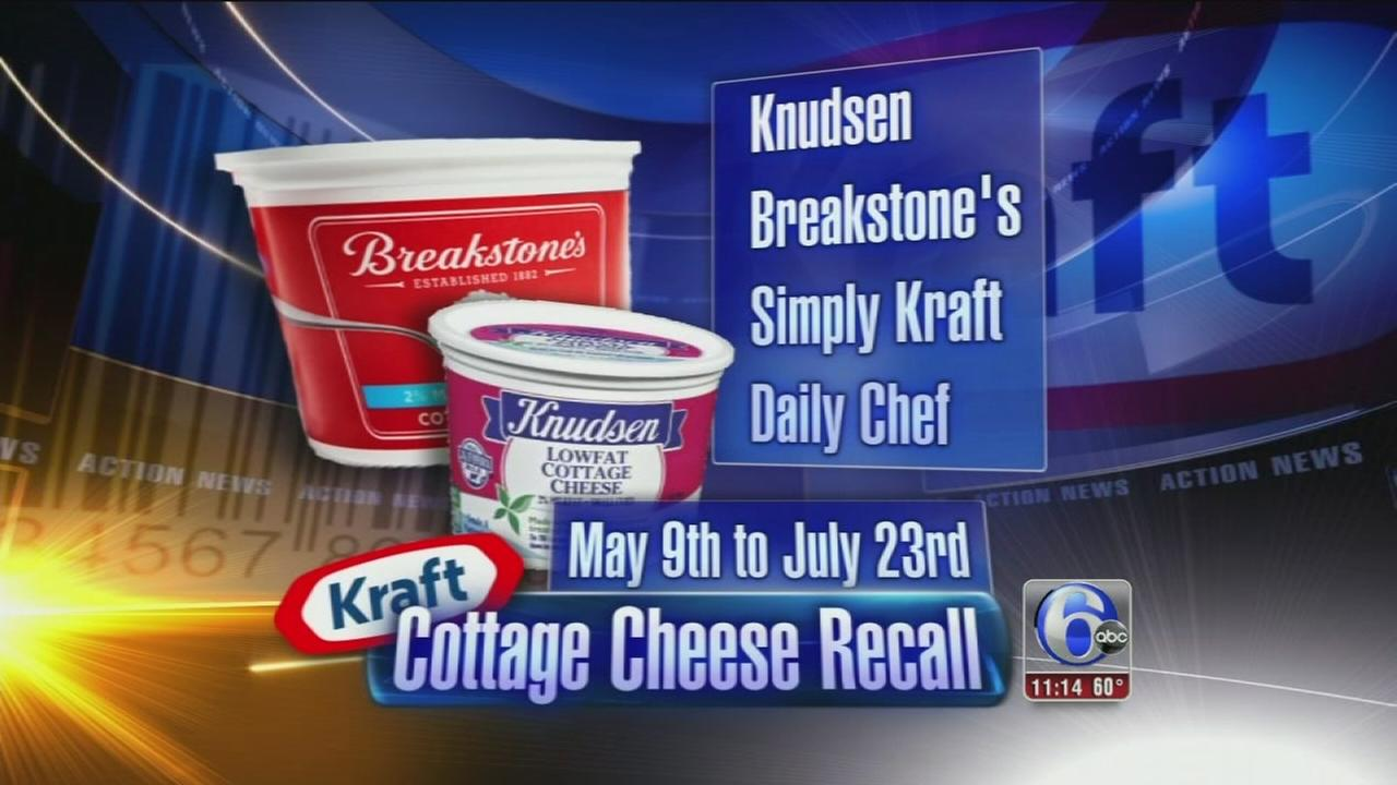 NORTHFIELD Ill AP Kraft Foods Group Is Recalling Some Of Its Cottage Cheese Products Company Officials Announced Saturday