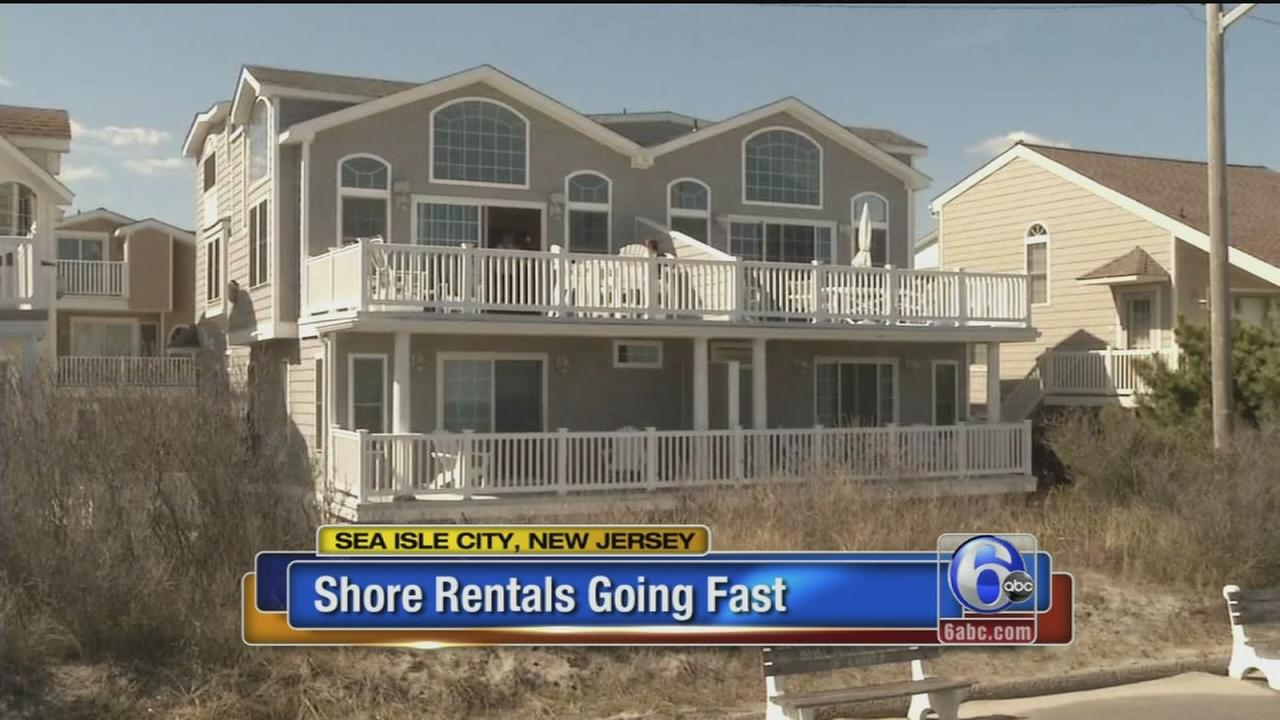 VIDEO: Jersey shore rentals going fast