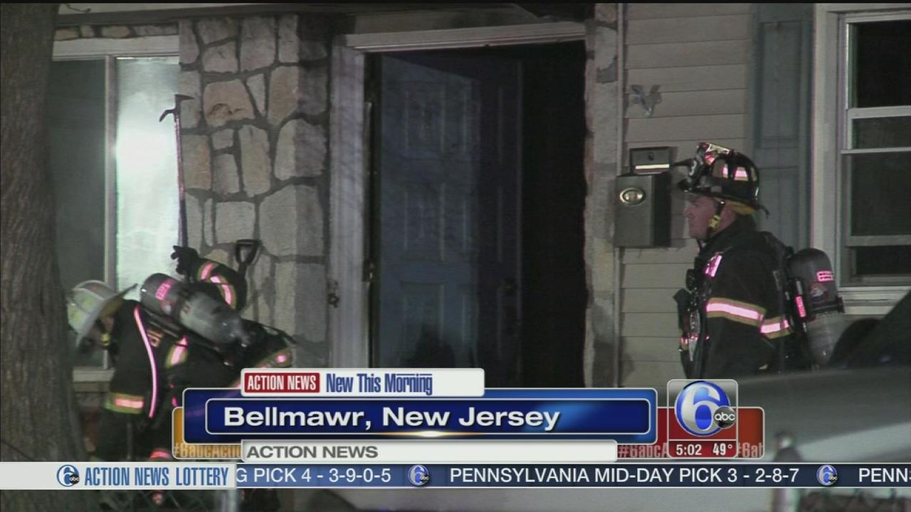 VIDEO: Dryer fire forces family from Bellmawr home