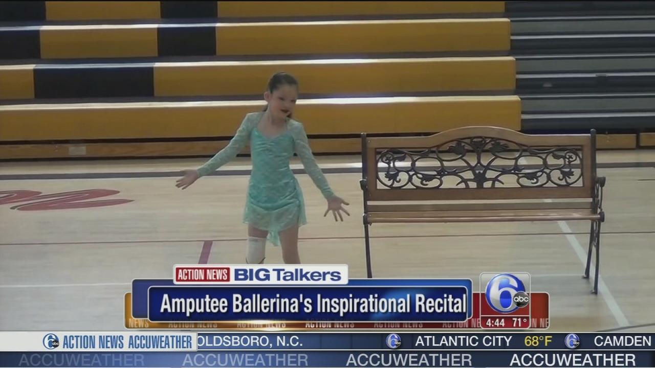 VIDEO: Amputee ballerinas inspirational recital