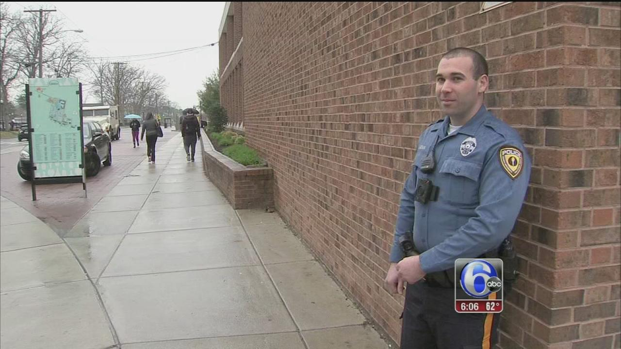 VIDEO: Rowan University police use body cams