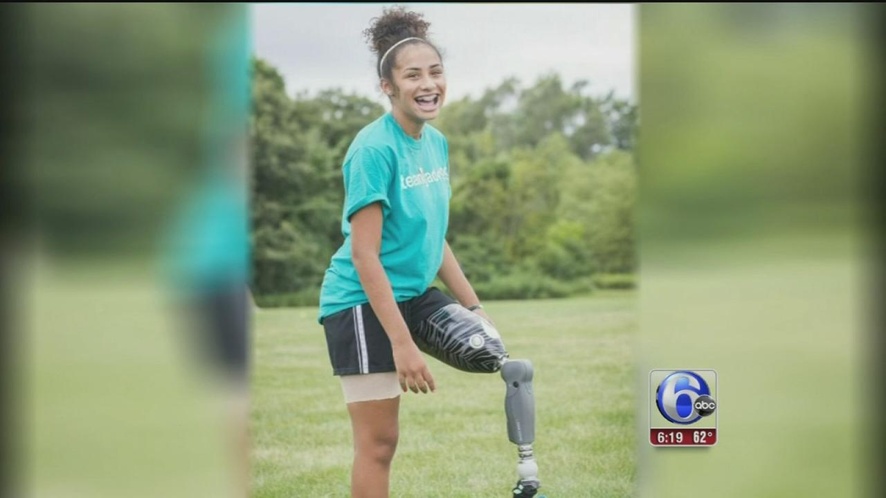VIDEO: Young soccer player overcomes obstacles
