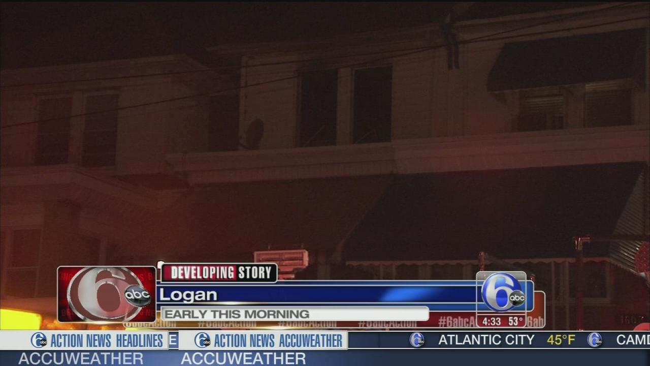 VIDEO: 1 person in custody after blaze in Logan