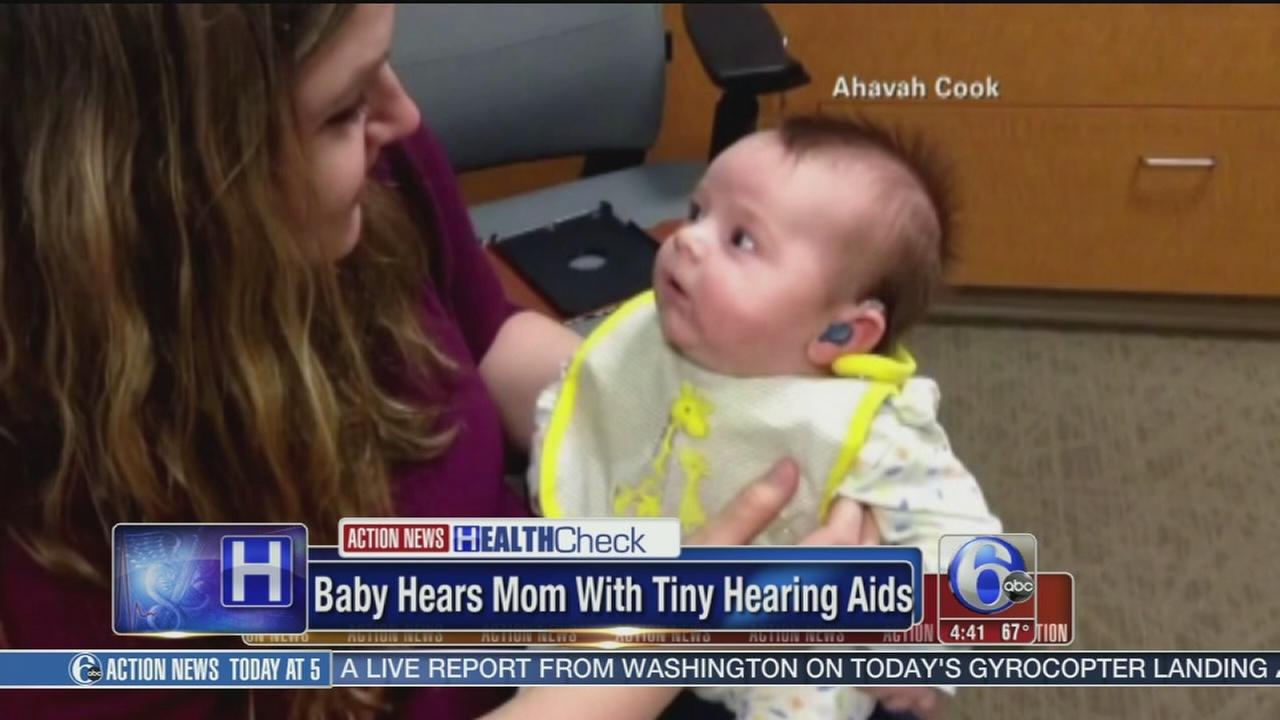 VIDEO: Baby, once deaf, hears mom?s voice for first time