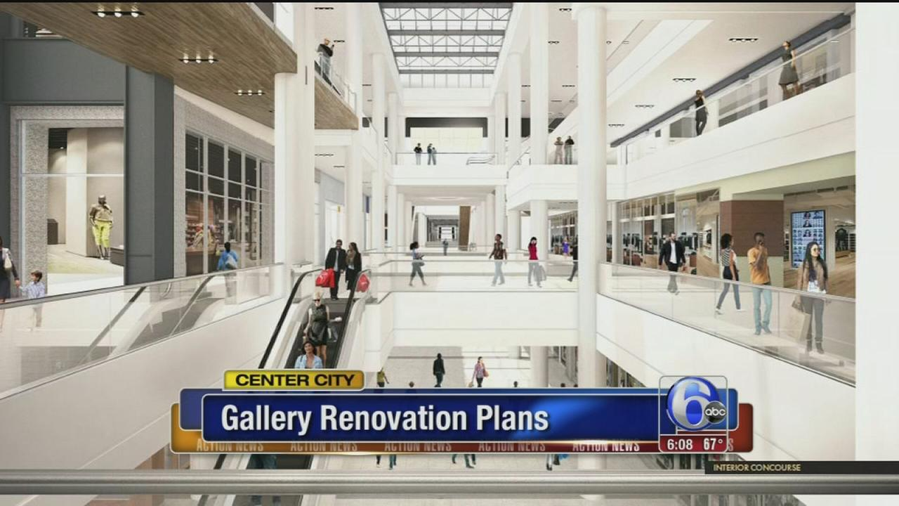 VIDEO: Major makeover planned for The Gallery