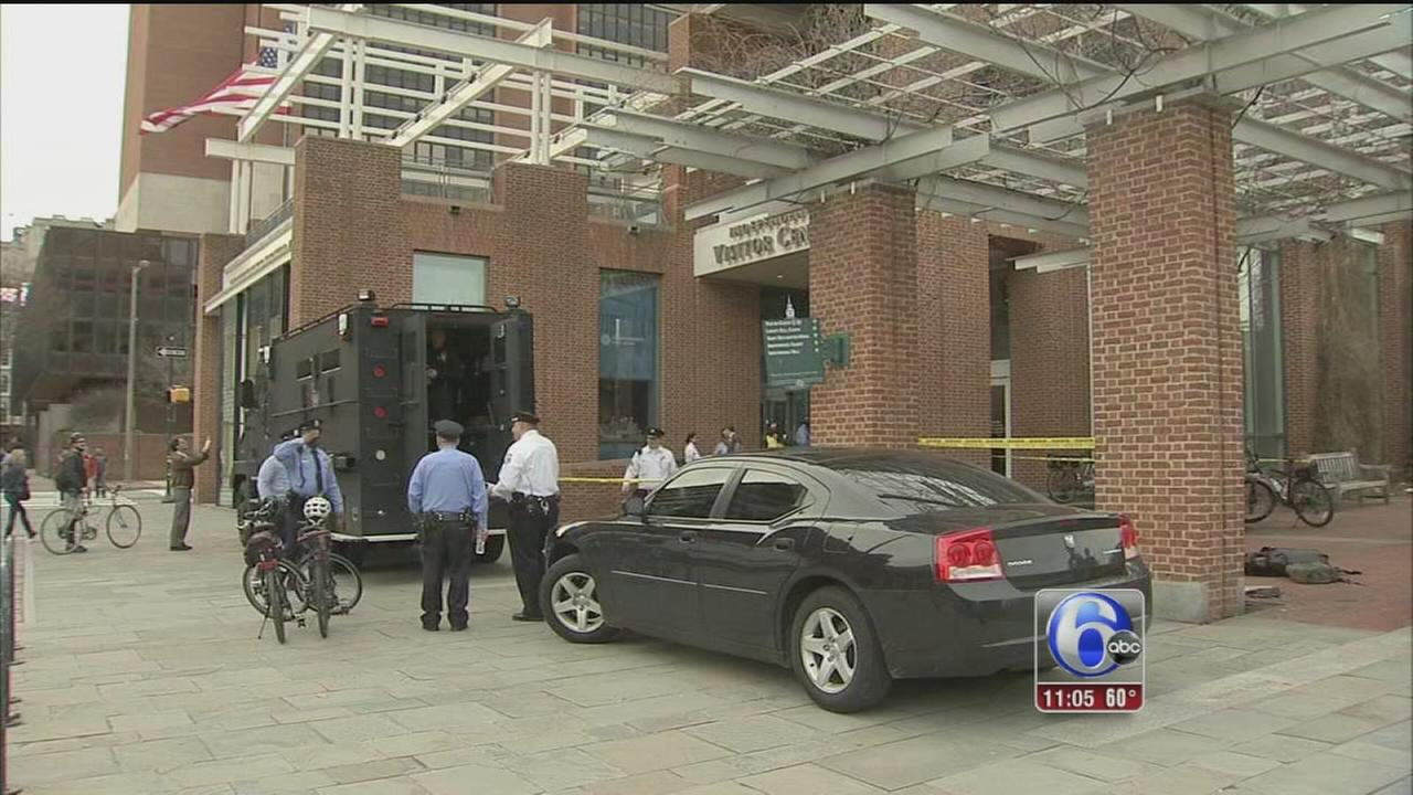 VIDEO: Police hold training drill near Independence Mall