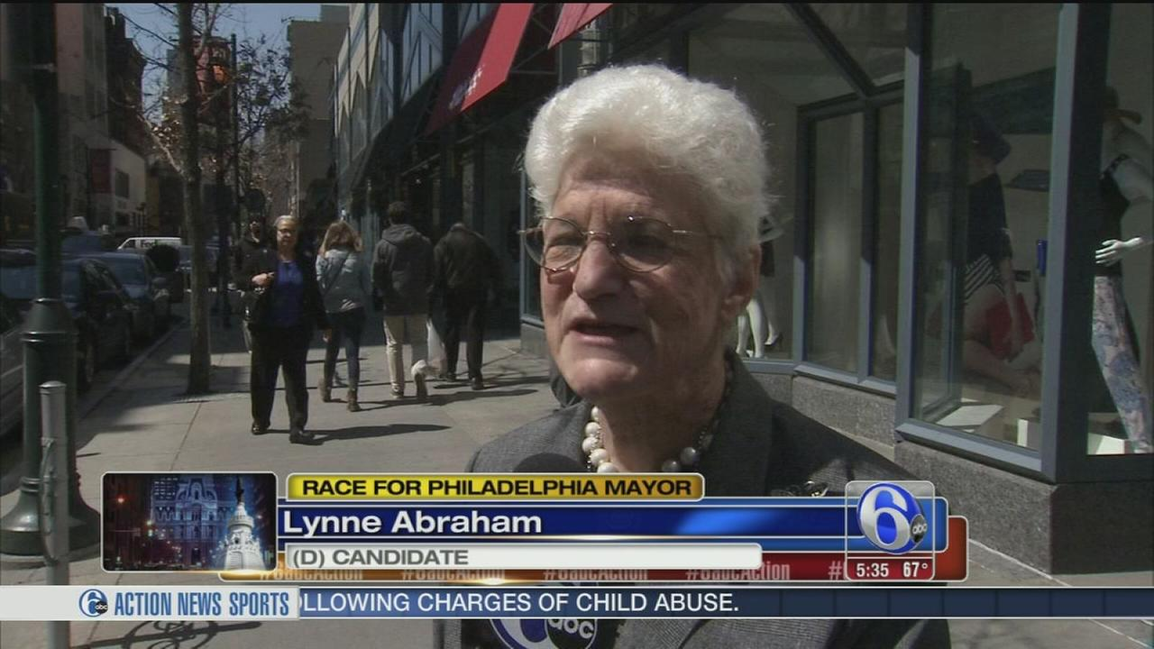VIDEO: The Race for Mayor - Lynne Abraham