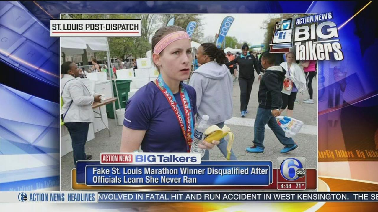 VIDEO: Officials: Marathon winner never ran marathon