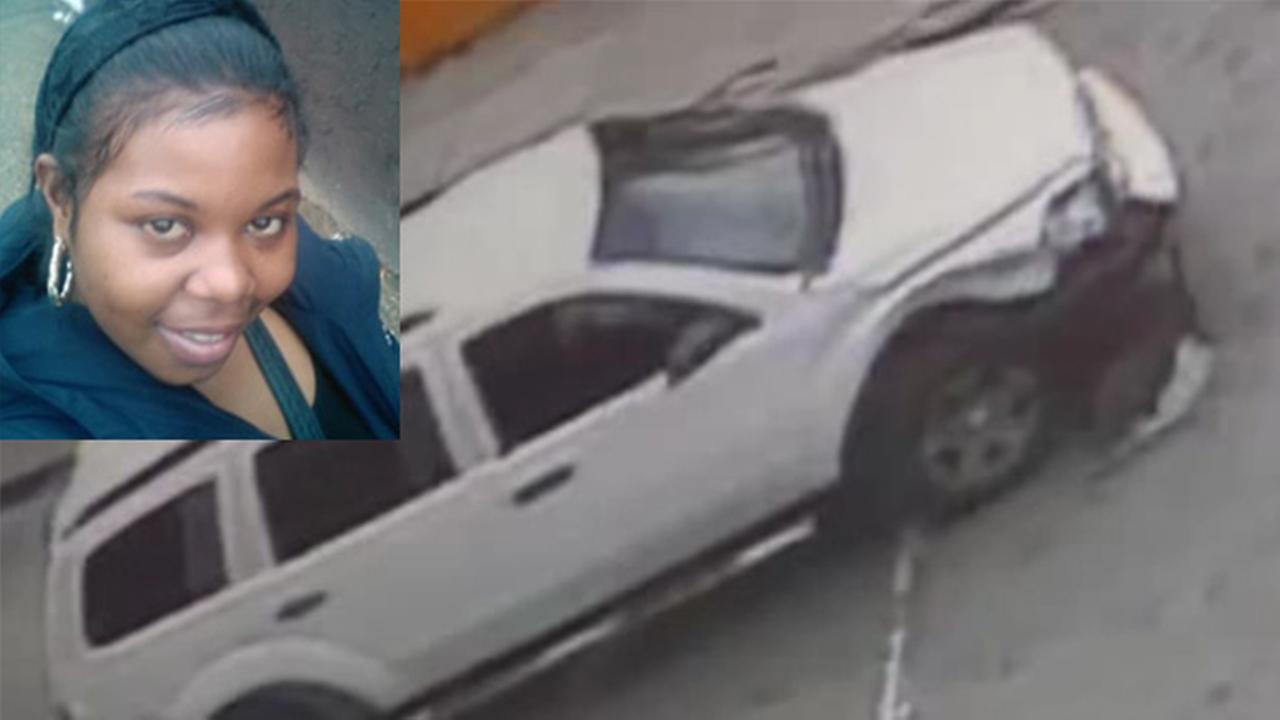 Photo: The victim, Beatrice Spence, and the suspects vehicle.