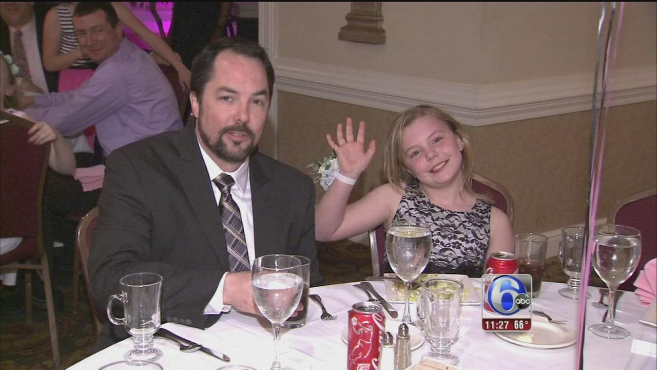 VIDEO: Dads, daughters dance the night away in Drexel Hill