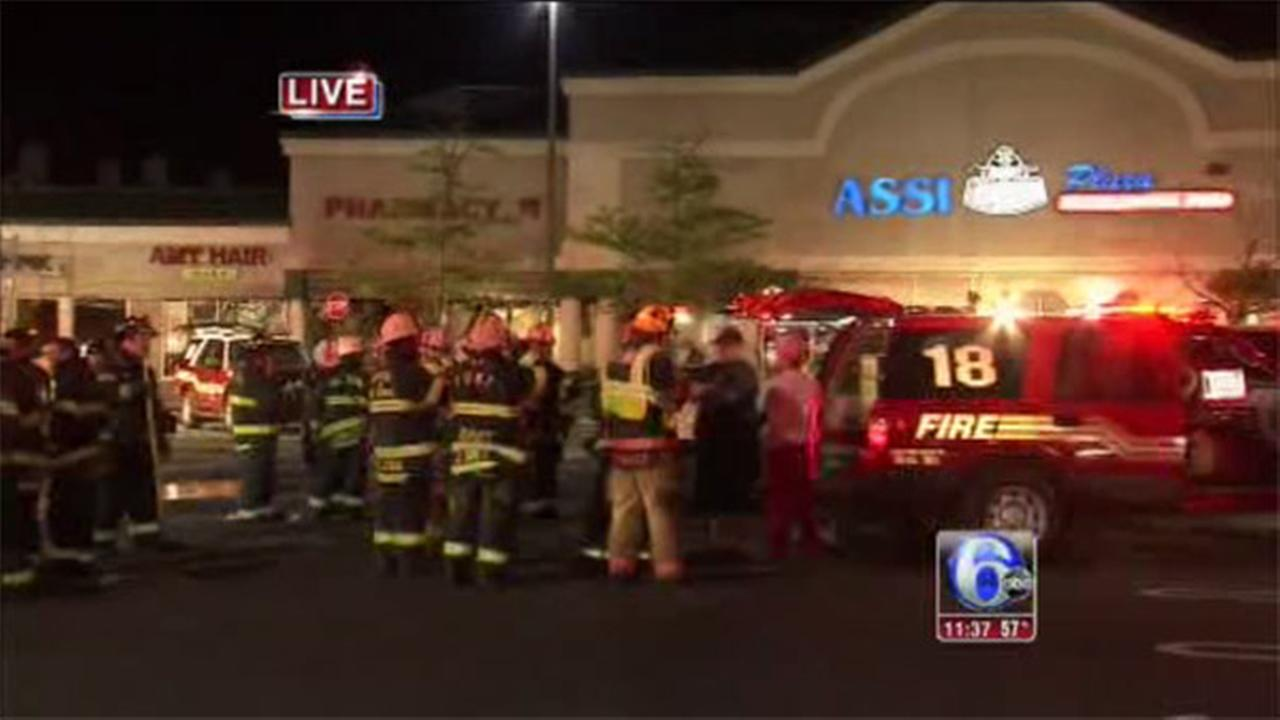 2-alarm fire at Montgomery Township grocery store