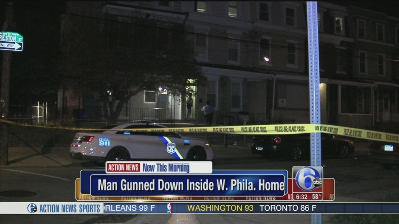 VIDEO: Man killed in West Philadelphia