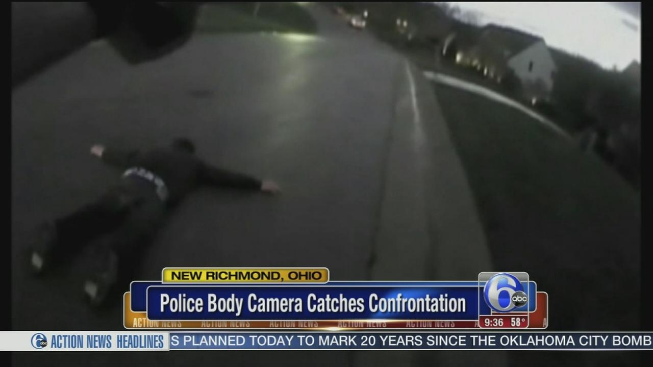 VIDEO: Body camera catches confrontation