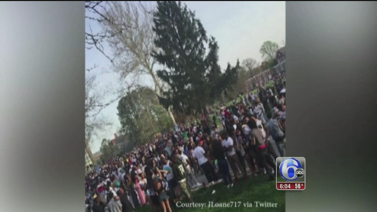 VIDEO: 3 injured in Delaware State University shooting