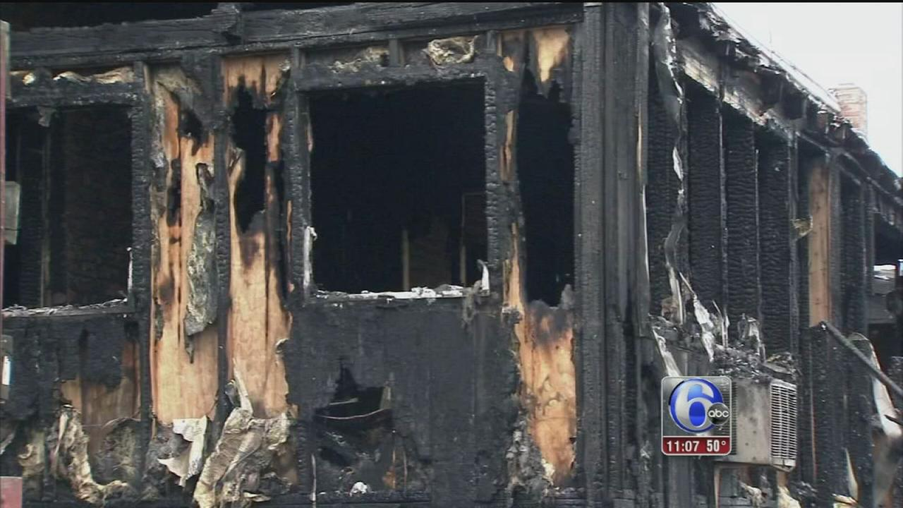 VIDEO: 5 families displaced in 3-alarm fire in Norristown