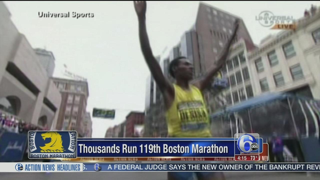 VIDEO: Desisa wins Boston Marathon; Rotich wins womens race
